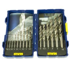 Porasarja Irwin 15 osaa metalli  1.5 - 10 mm