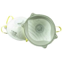 Hengityssuoja 2 kpl venttiilillä FFP3