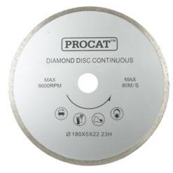 Timanttilaikka Procat 180 mm yhtenäinen / laattaleikkurille