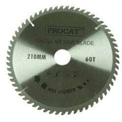Pyörösahanterä  Procat 210 x 60T keskiö 30mm