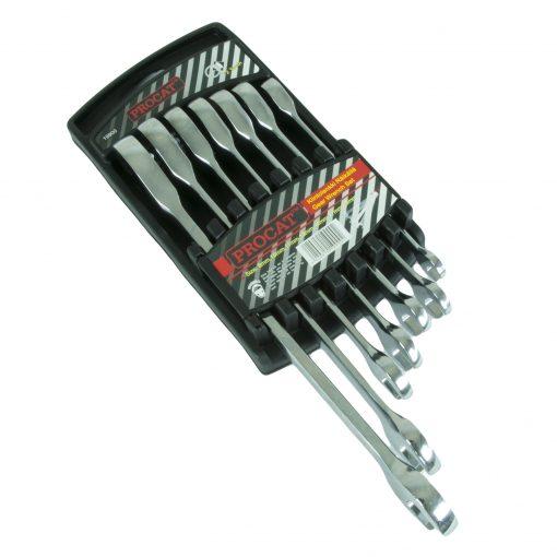 Räikkälenkkisarja Procat 8-19 mm 8-10-11-13-14-17-19 mm