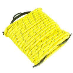 Köysi heijastava keltainen 9.5 mm x 15 m + kela