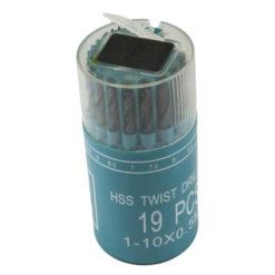 Pyöreä metalliporasarja 1-10 mm  41009