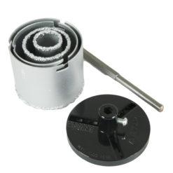 Reikäsahasarja KM pahvipakkaus   33-53-73-83 mm