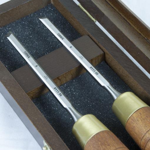 Viistotalttasarja Narex 6 mm puulaatikossa 2 kpl / paketti