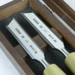 Viistotalttasarja Narex 20 mm    puulaatikossa 2 kpl / paketti