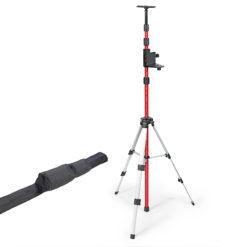 Teleskooppitanko Kapro kolmijalalla lasereille